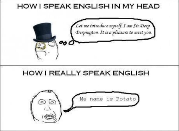 english in my head
