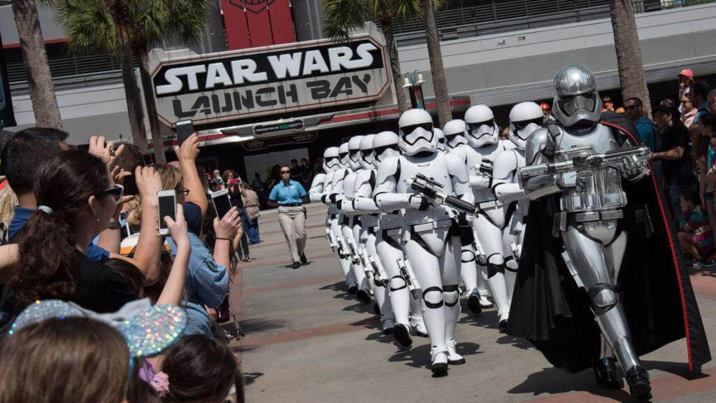star wars disneyland